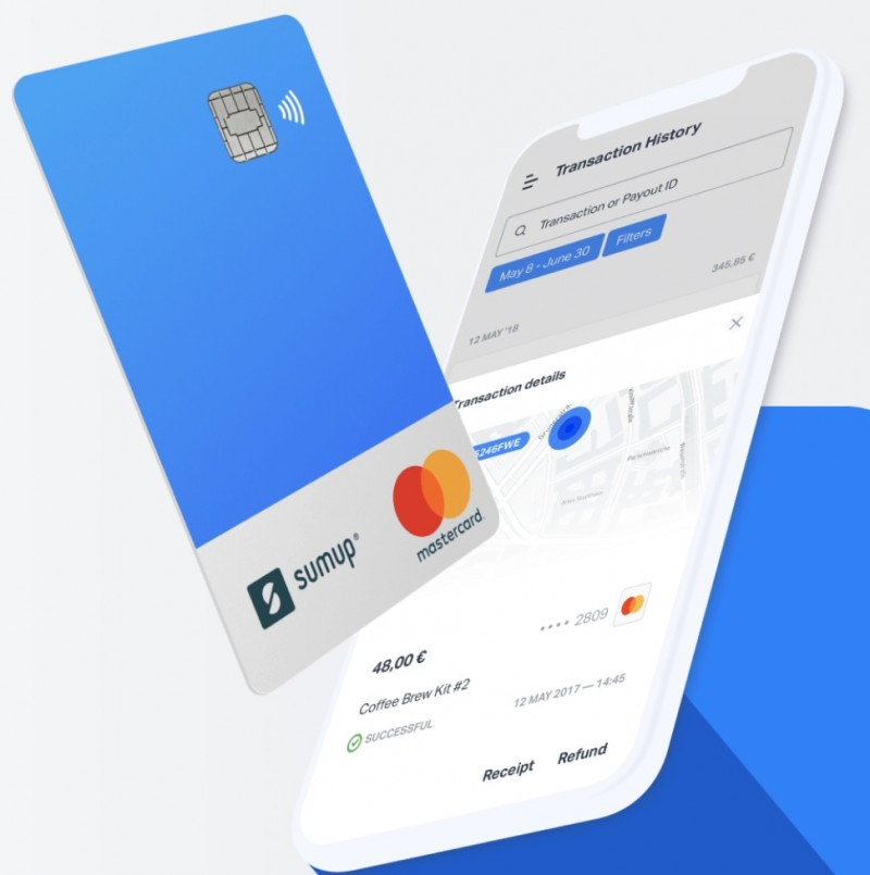 SumUp Card on maksukortti
